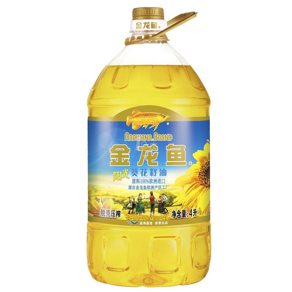 chuennuanhuakaixing_金龙鱼 4l 阳光葵花籽油